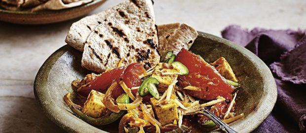 Turmeric and Paneer Curry