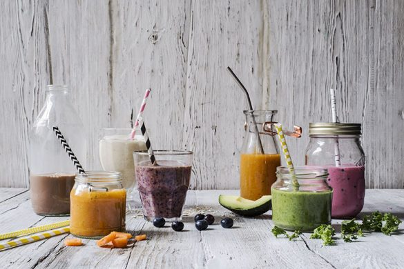 Fruit & Veg Purple Smoothie Recipe