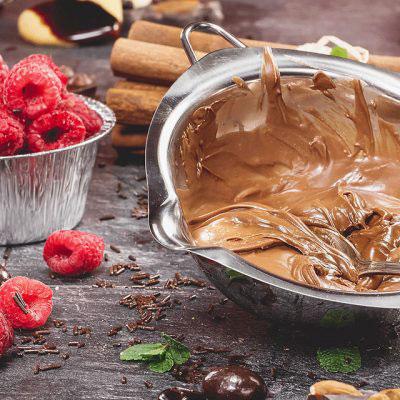 Miles Hot Chocolate cheesecake dip
