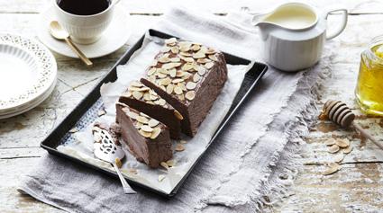 Chocolate and almond parfait