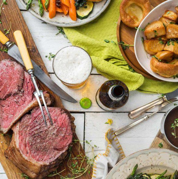 Jack Steins Roast Beef Dinner